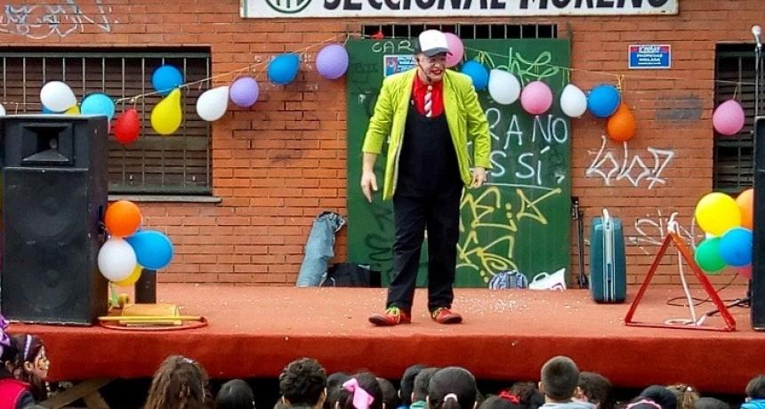 Moreno: ATE realizó un multitudinario festejo por el Mes de la Niñez