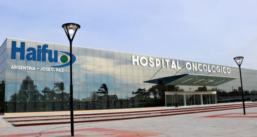 José C. Paz: Ishii celebró que en el Hospital Oncológico se atendieron más de 16 mil pacientes