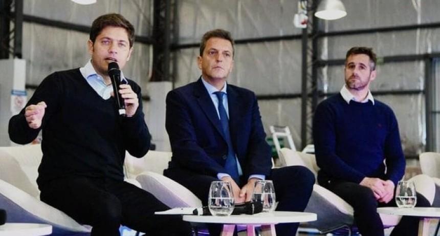 Pilar: Kicillof, Massa y Achával retomaron la campaña junto a industriales de la región