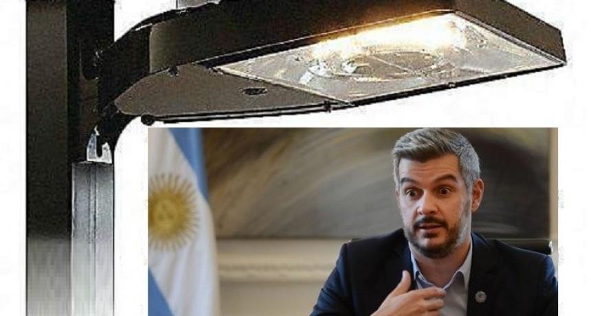Una brillante idea: Escandaloso negocio de Marcos Peña con luminarias en distritos de Cambiemos
