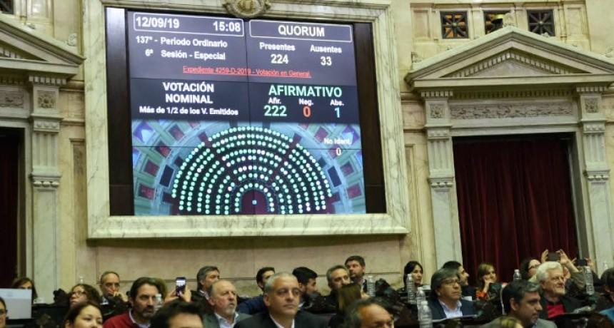 Con 222 votos afirmativos, diputados aprobó la emergencia alimentaria
