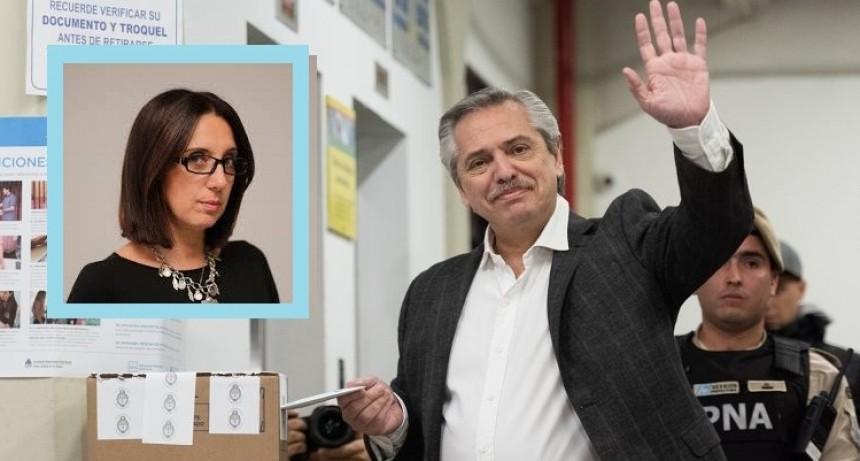 """Ana Paola Zuban: """"Es muy difícil que Macri logre revertir la tendencia. Fernández está casi en el 54%"""""""