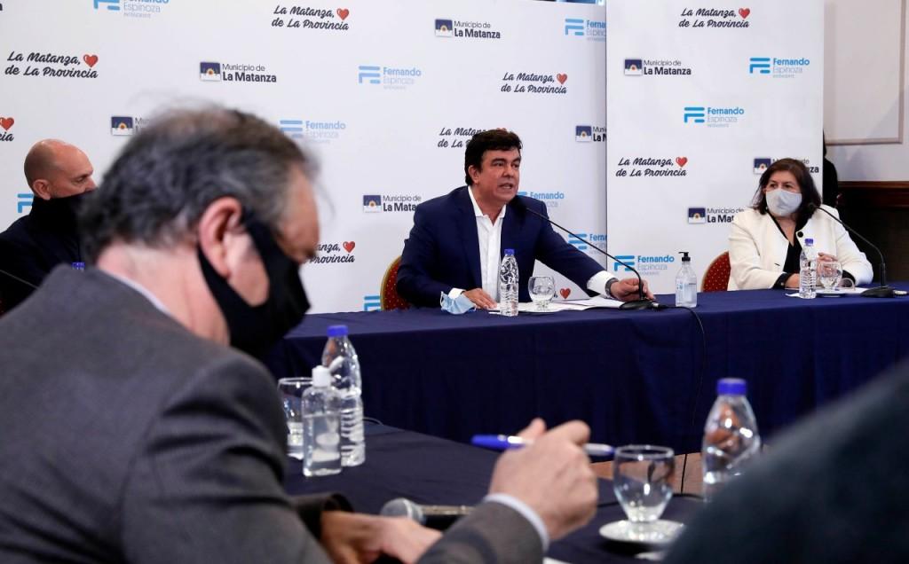 La Matanza: Fernando Espinoza creó el Consejo Municipal de Seguridad
