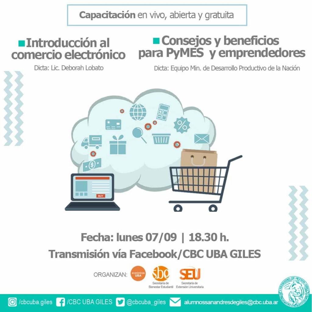 San Andrés de Giles: Capacitación sobre Comercio Electrónico destinado a PyMEs y emprendedores