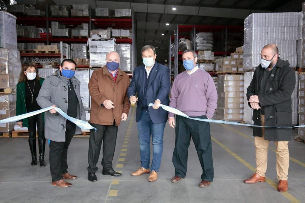 Alte. Brown: Cascallares inauguró el Parque Industrial de Burzaco