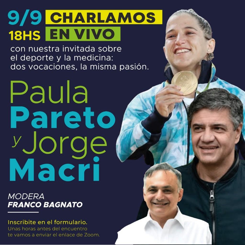 Vicente López: Encuentro vía zoom con la campeona Paula Pareto