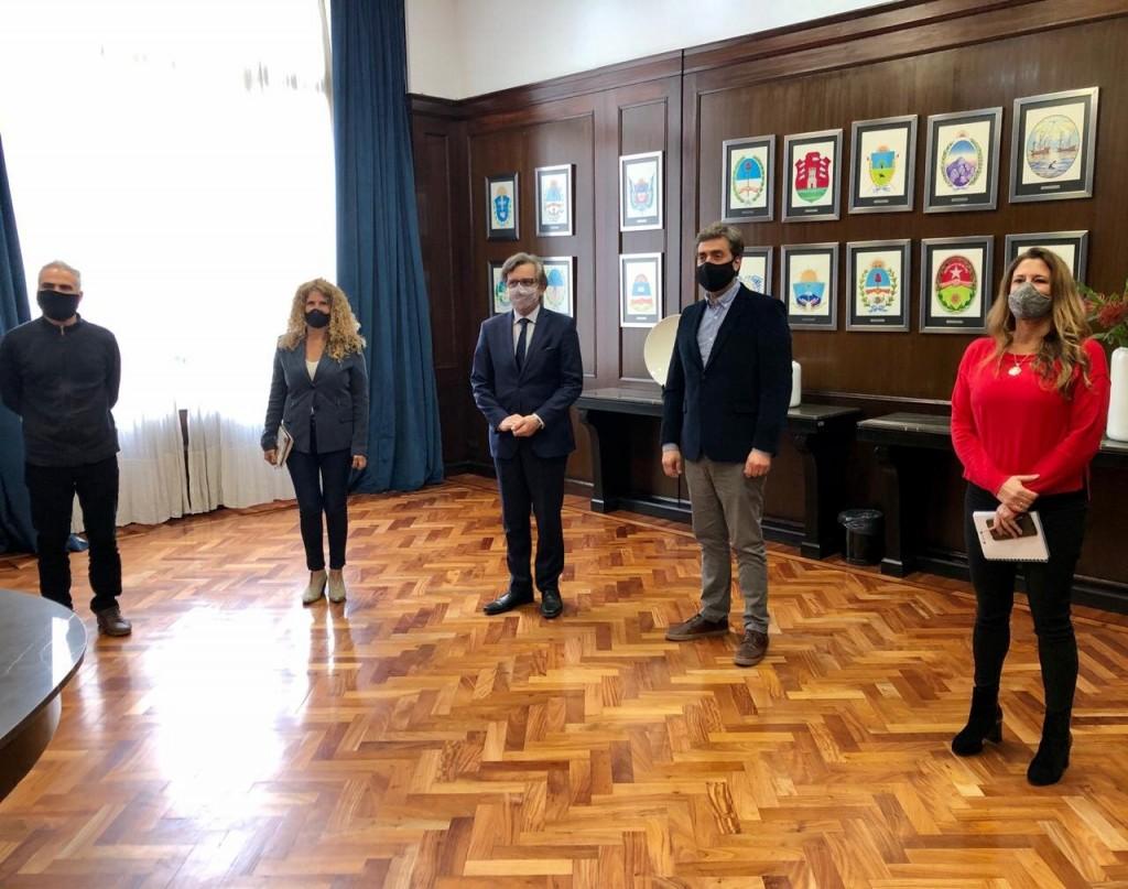 Luján: El Intendente se reunió con el Secretario de Industria de la Nación