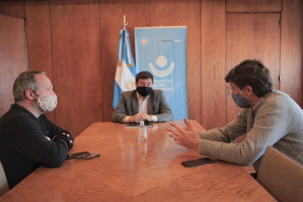 Morón: Lucas Ghi se reunió con el ministro Arroyo por los alcances del programa Potenciar Trabajo