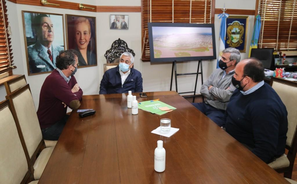 Convenios de obras públicas en San Pedro con la visita del Ministro Katopodis