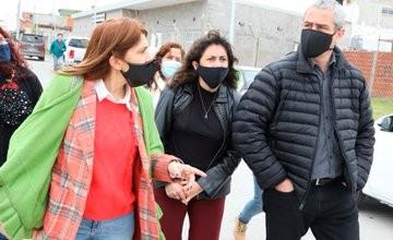 Avellaneda: Ferraresi recibió a la subsecretaria de Desarrollo Humano, Laura Berardo y visitaron los CIC de San Lorenzo y Santo Domingo