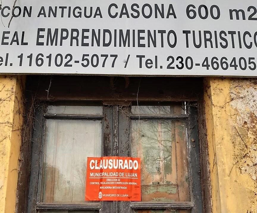 Luján: El Municipio clausuró una obra de demolición en Carlos Keen