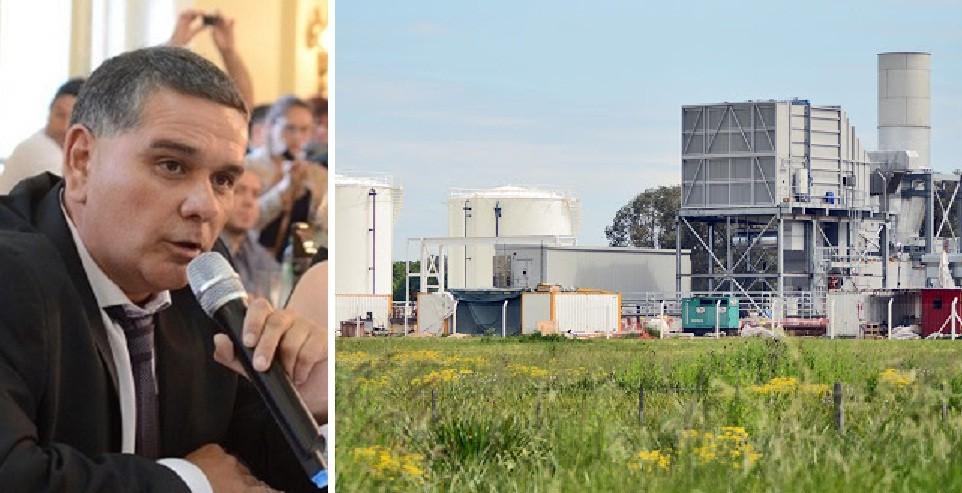 """Cesar Siror: """"La termoeléctrica de Luján nunca tuvo habilitación. Consideramos que esa obra irregular de Macri y Luciani tiene que ser demolida"""""""