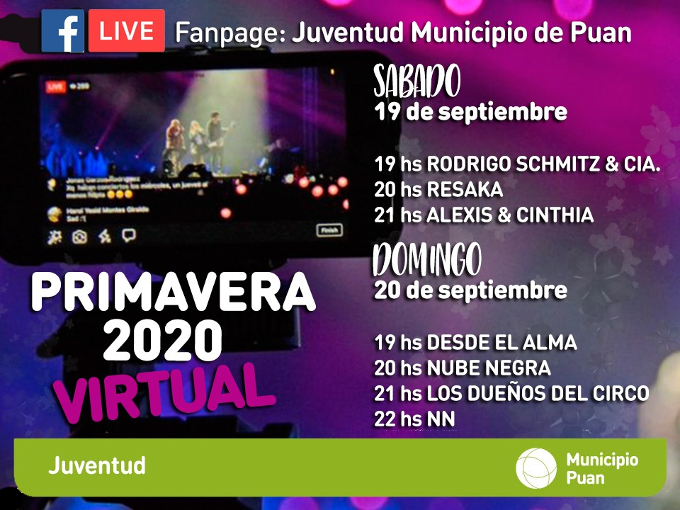 Puan: Disfruta de la Primavera Virtual 2020