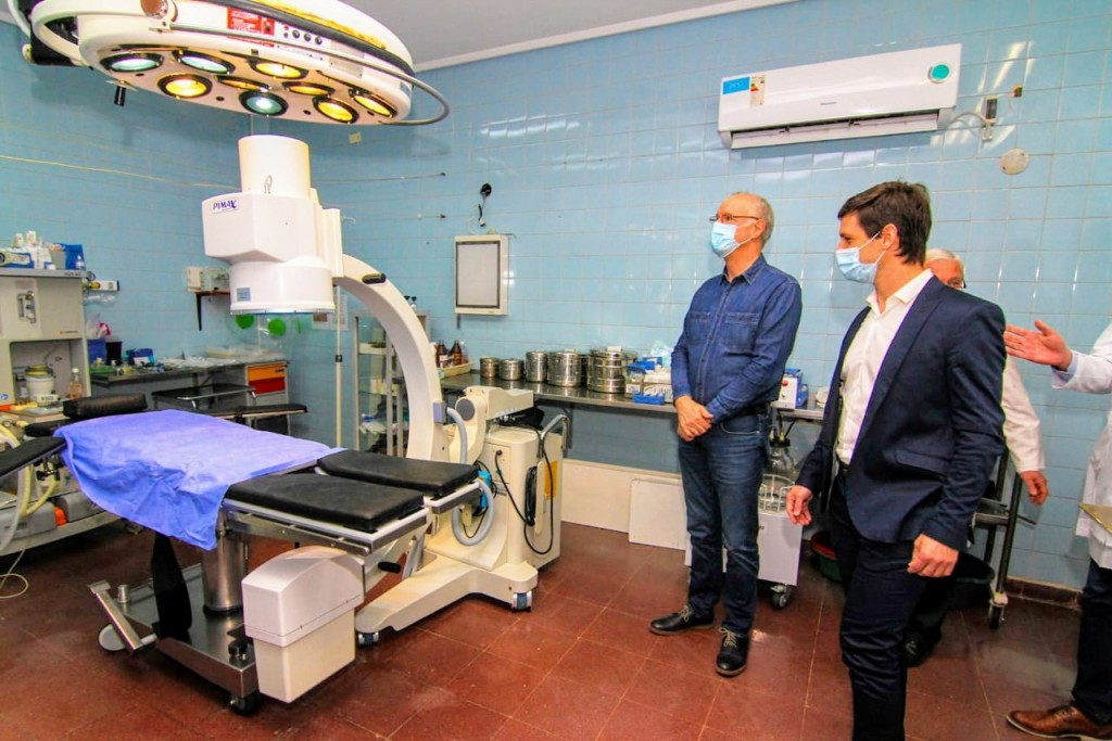"""Nicolás Mantegazza: """"Recibimos una inversión muy importante que permitirá que San Vicente tenga un sistema de salud muy fortalecido"""""""