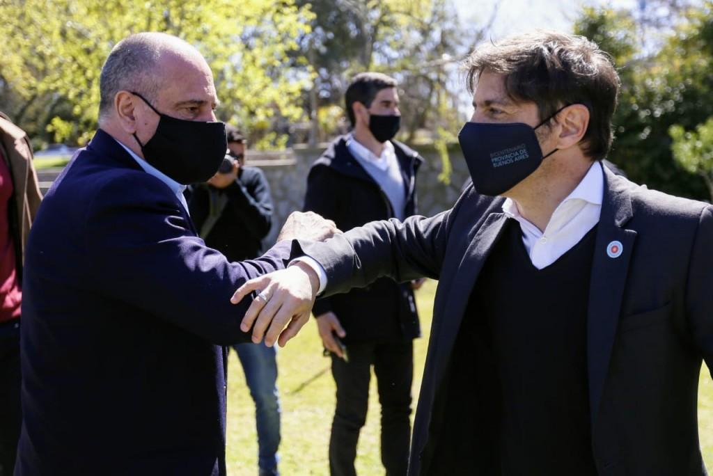 Chascomús: Daniel Cappelletti, jefe comunal de Brandsen se reunió con Kicillof