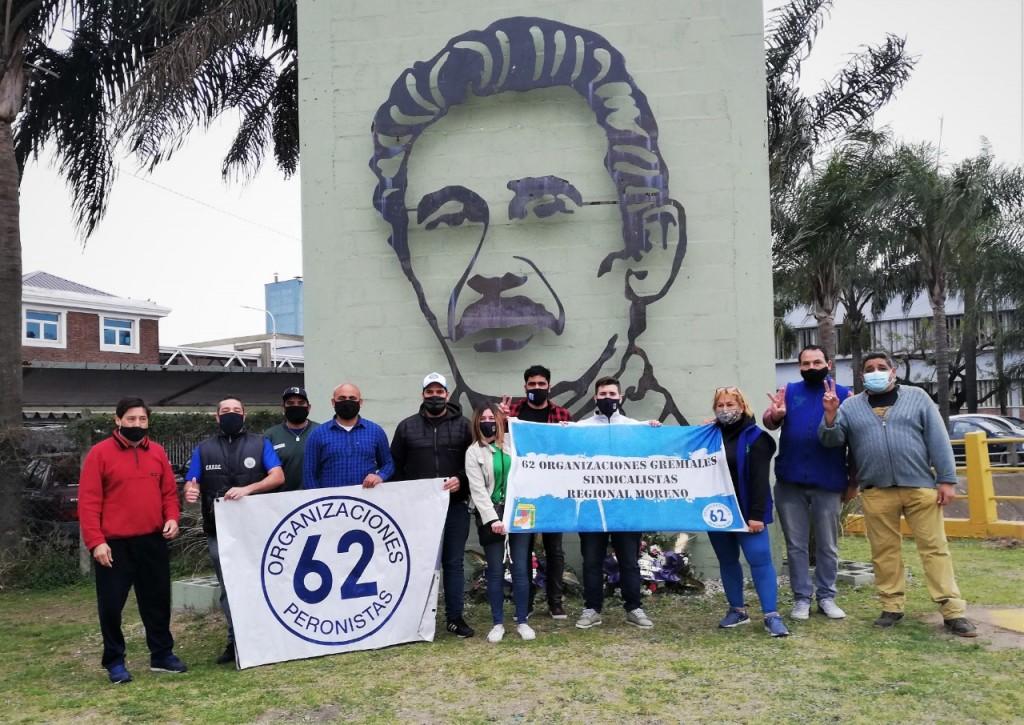 Las 62 Organizaciones de Merlo y Moreno unidas en el Homenaje a José Ignacio Rucci