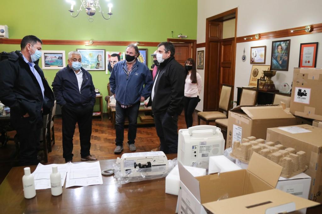 San Pedro: Región Sanitaria entregó nuevo equipamiento y llegarán dos nuevas camas para UTI