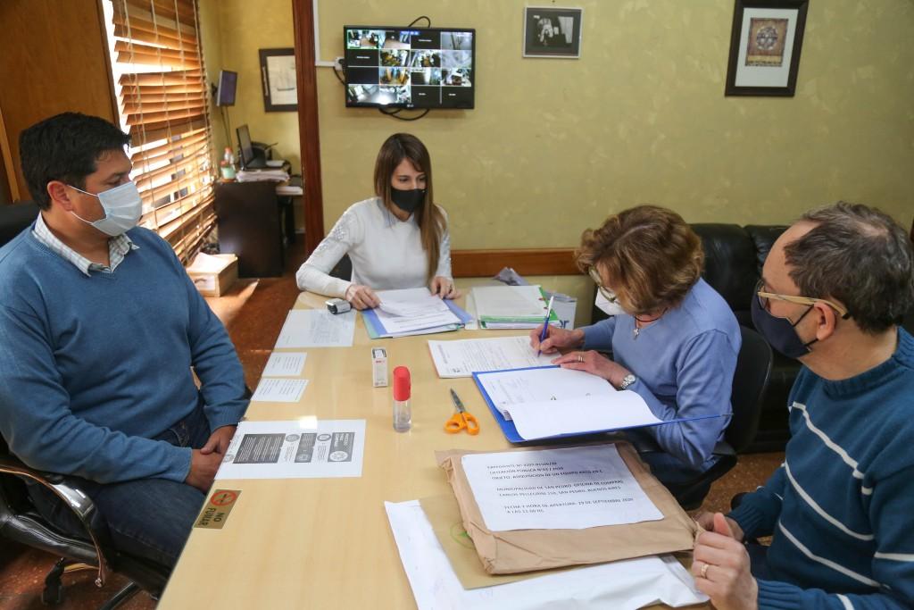 """San Pedro: Tres propuestas para la compra de un """"Arco en C"""""""