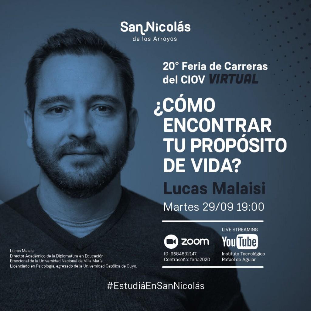 Una charla de interés para toda la comunidad de San Nicolás