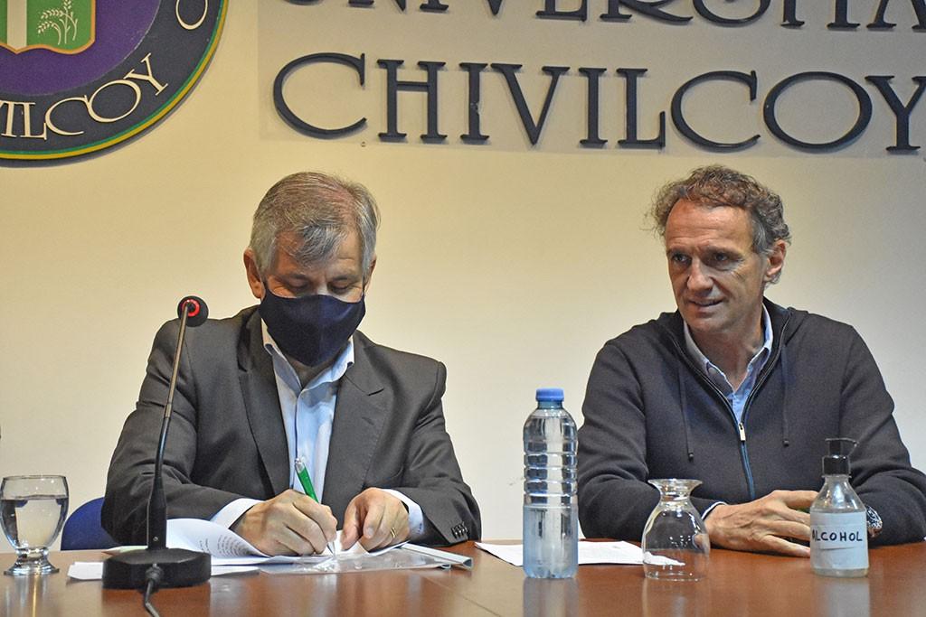 Chivilcoy: El Ministro Katopodis firmó un convenio con el municipio para obras en la ciudad