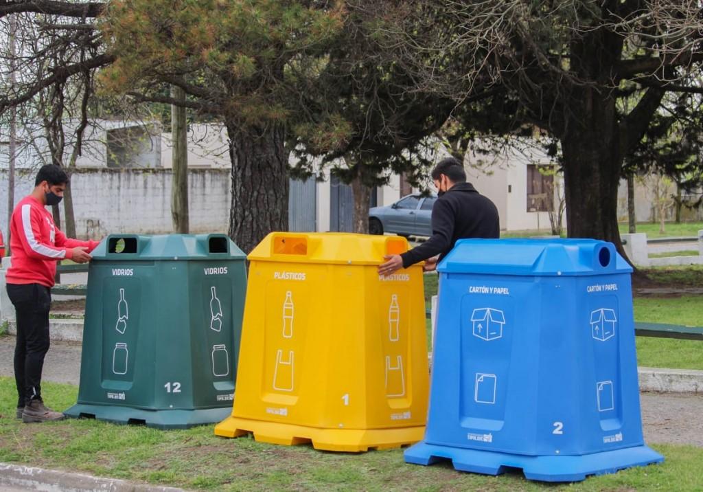 Tapalqué ya cuenta con puntos limpios para calificar los reciclables