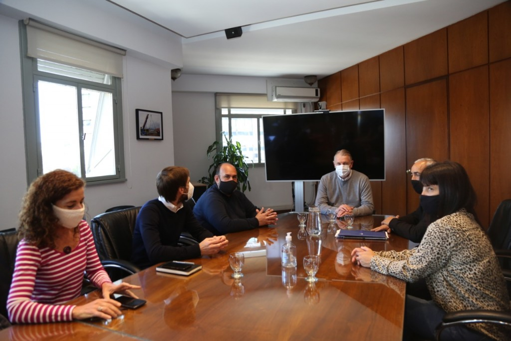 Baradero: El intendente se reunió con el administrador de Infraestructuras Ferroviarias