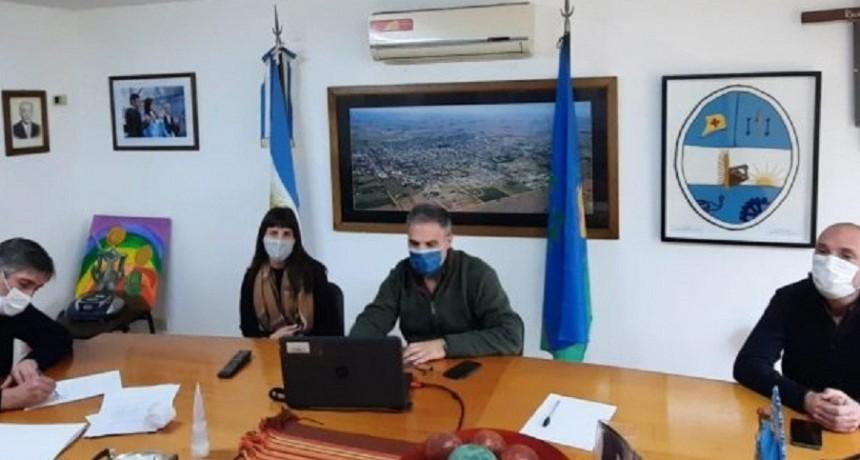 Colón: Katopodis mediante reunión virtual, evalúo los avances de la obra de la autopista de la Ruta 8