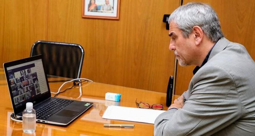 Ferraresi participó del lanzamiento del Plan Provincia en Marcha