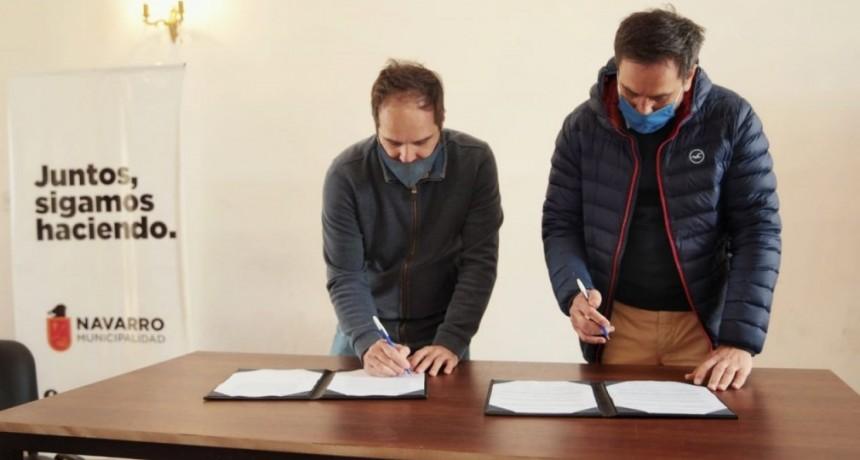 Navarro: El ministro Cabandié fue recibido por Maggiotti que adhirió al Plan Integral Casa Común