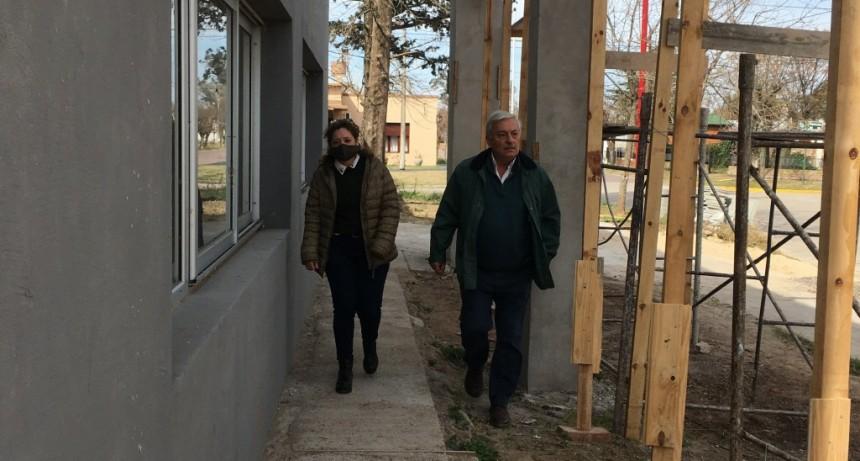 General Villegas: Obras de Infraestructura Educativa en Escuela 502