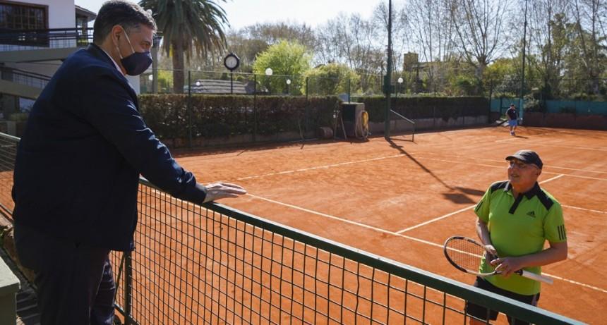 Vicente López: Implementación de protocolos en los deportes individuales