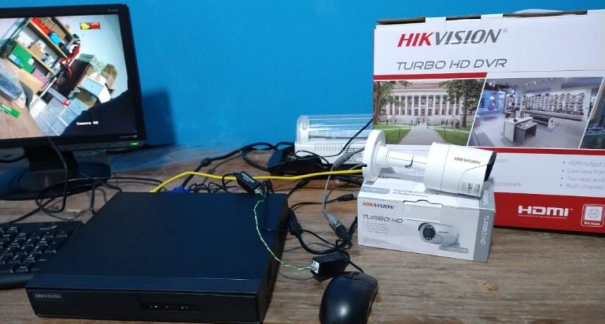 Lobería: La Municipalidad compró con fondos propios Videocámaras de Vigilancia para la zona rural