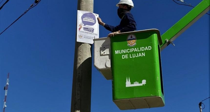 """Luján: Se puso en marcha el programa """"Vecinos Conectados"""""""