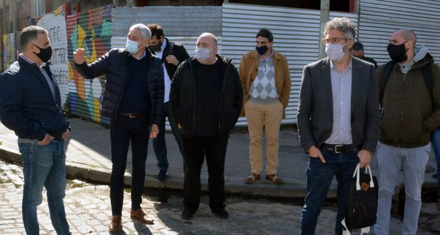 Berisso: Cagliardi recibió al secretario de Hábitat de la Nación Javier Fernández Castro