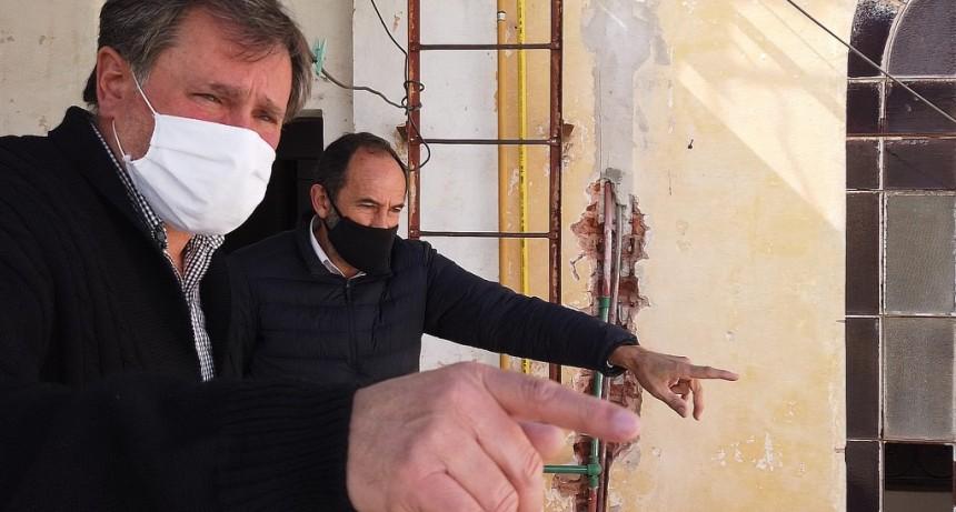 Suipacha: Con intervención municipal se completan tareas de reparación en la Comisaría local