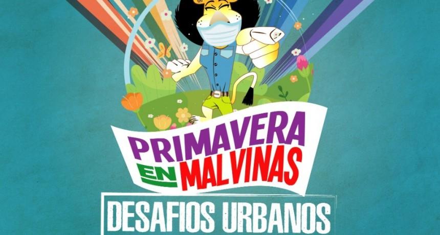 Malvinas Argentinas: Festejos de la primavera con una competencia virtual de desafíos urbanos