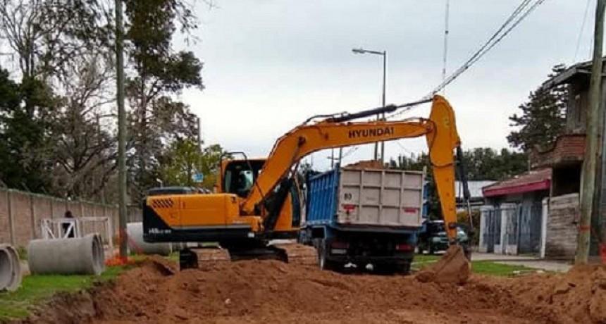 Merlo: Avanza la Obra de pavimentación de la calle San Lorenzo en Libertad
