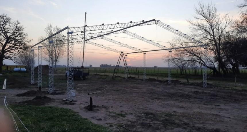 H. Yrigoyen: Inicio de obra en EESA N°1