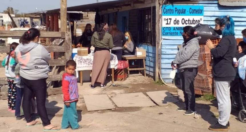 Berisso: Jornada de vacunación y prevención de dengue en el Barrio Néstor Kirchner