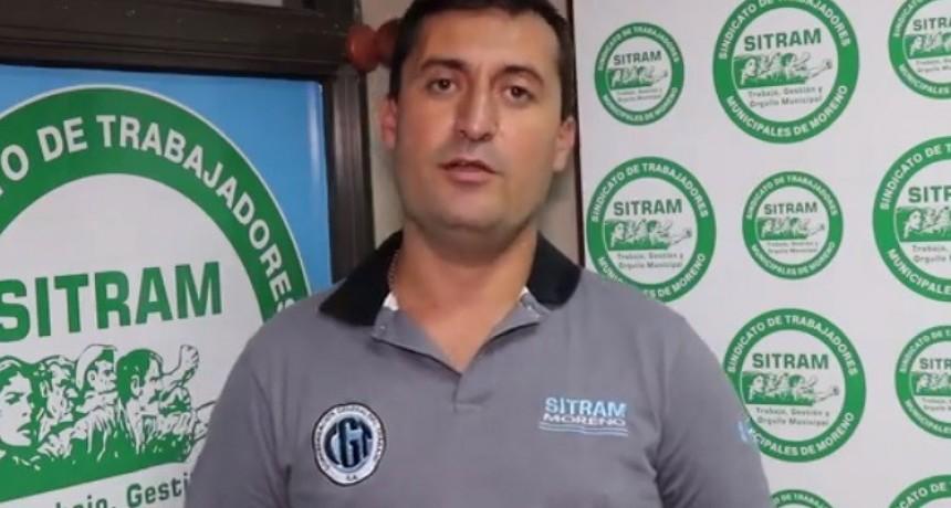 """Ariel González (SITRAM): """"Se debería discutir una bonificación por tarea esencial. Lxs trabajadorxs que acompañaron este tiempo, deben tener un reconocimiento"""""""
