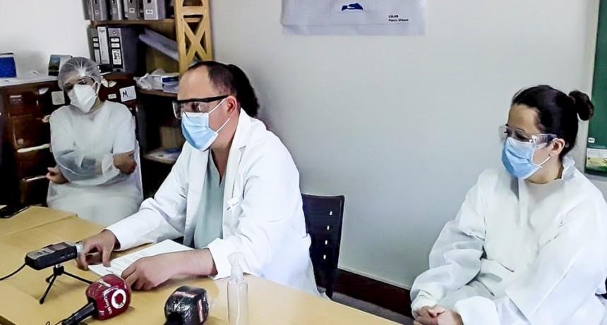 Colón: Tratamiento Covid-19 por protocolo oficial en el Hospital Municipal