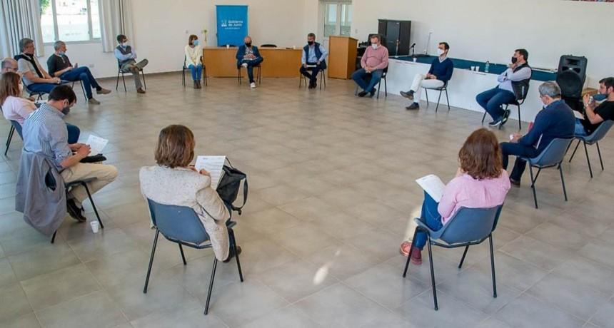 Junín: Petrecca encabezó una nueva reunión de la Mesa Sanitaria local