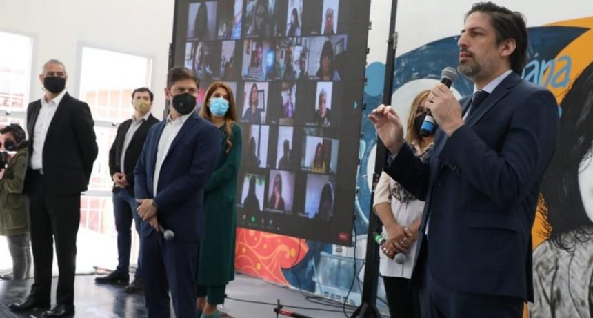 Avellaneda: Ferraresi y Kicillof inauguraron el edificio de la Primaria 31, en Dock Sud