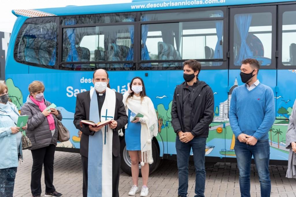 San Nicolás: El distrito ya tienen su bus turístico