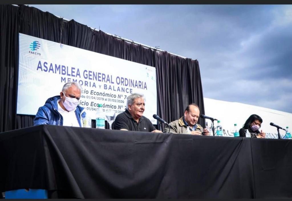 Julio Rubén Ledesma encabezó la Asamblea General de Memoria y Balance del SEOCA