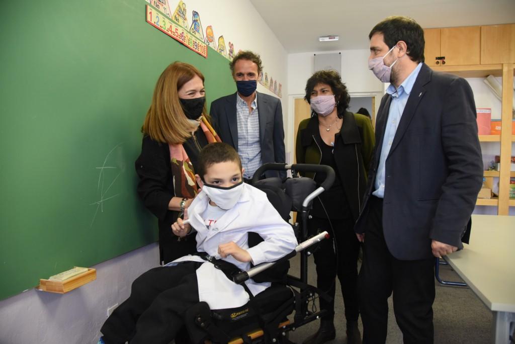 San Martín: En 2021, el Municipio realizó obras en más de 50 escuelas