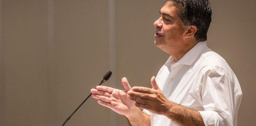"""Jorge Capitanich: """"Chaco tuvo una jornada cívica ejemplar, democrática y en paz"""""""