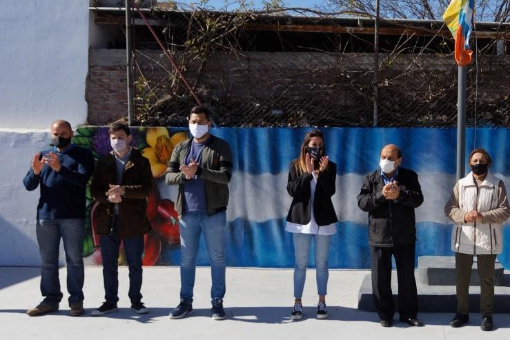 Berazategui: Mussi y Federico López inauguraron obras de mejora y construcción en escuelas primarias