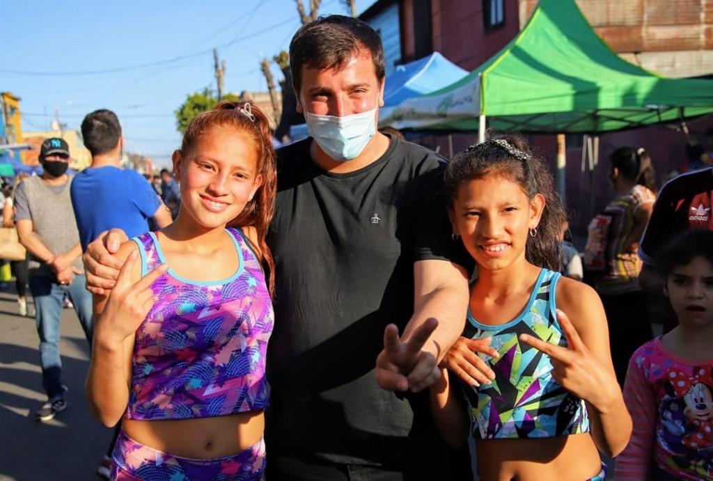 Avellaneda: El intendente Chornobroff participó del festival Orgullo Maciel