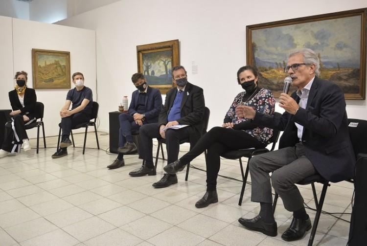 Kicillof, Bauer y Costa encabezaron la apertura del 5° Congreso Audiovisual Nacional